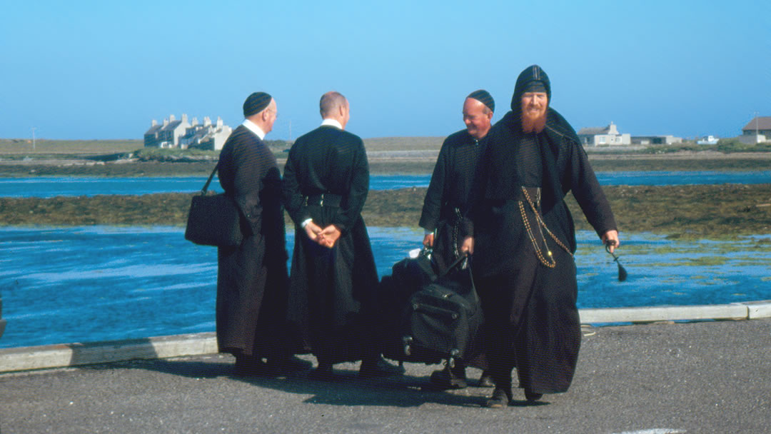 Monks in Stronsay