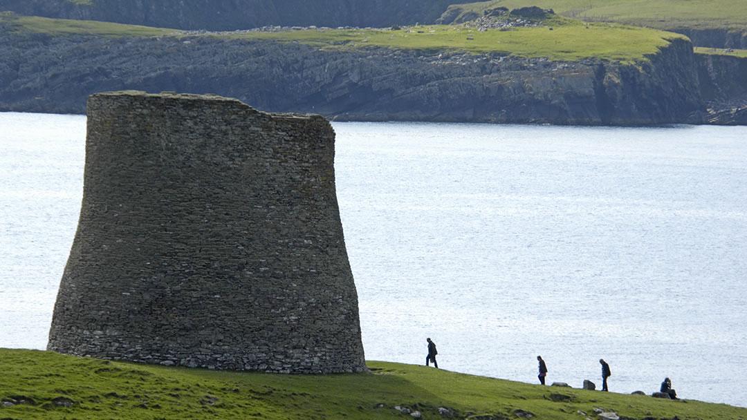 Mousa Broch in Shetland