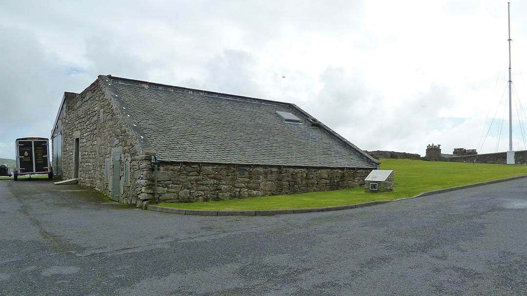 Workshop, Fort Charlotte, Lerwick, Shetland © Rob Farrow