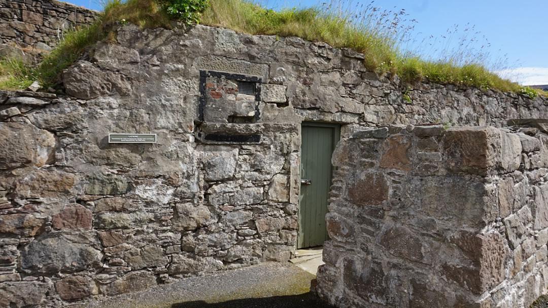 The Latrine, Fort Charlotte, Lerwick © Ian S