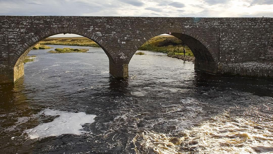 Beat 13 Bridge on River Thurso