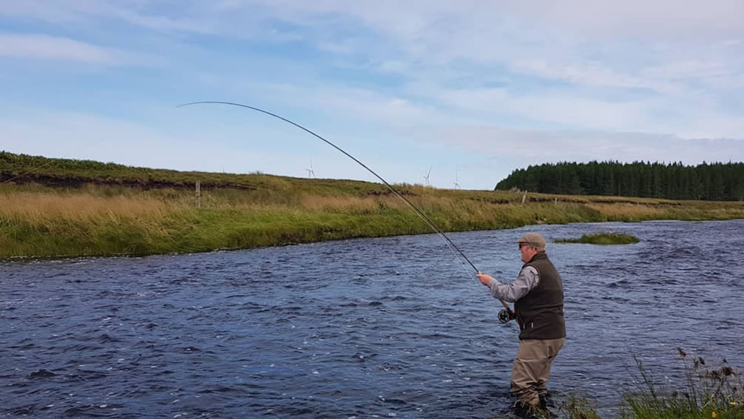 Fishing in Thurso River in Caithness