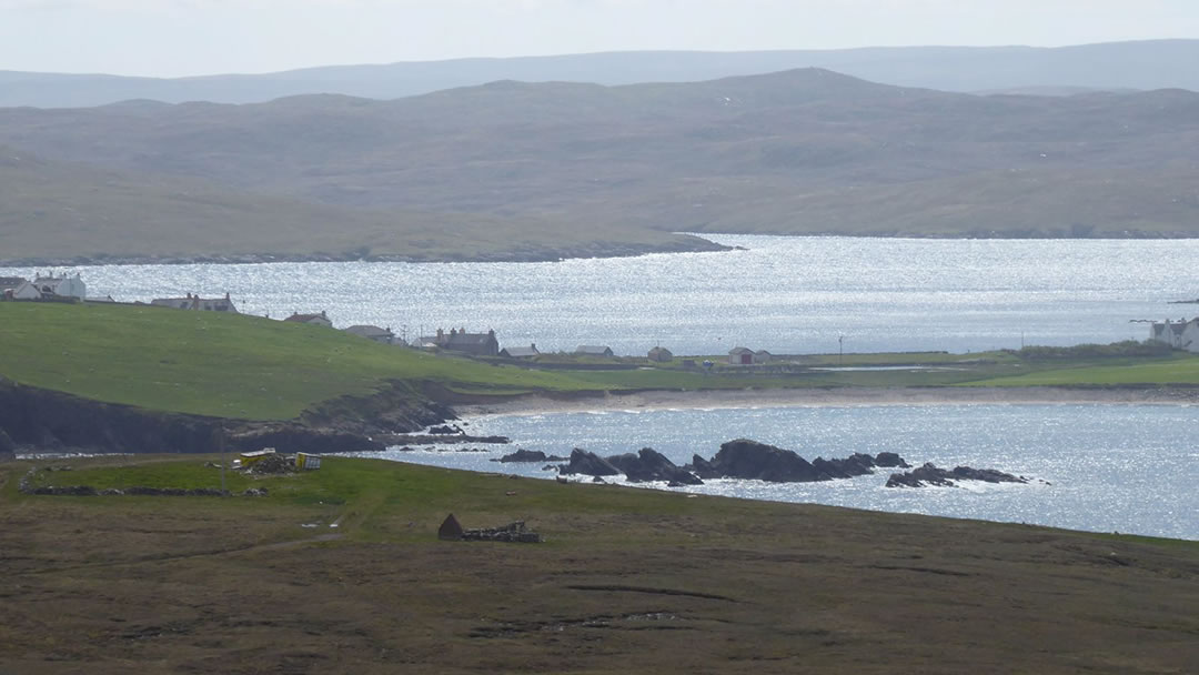 Hillswick - On the isthmus to Ness of Hillswick in Shetland geograph-6185103-by-Russel-Wills