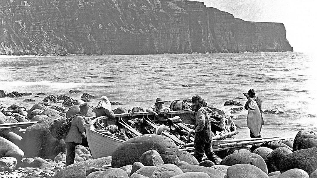 Rackwick fishermen