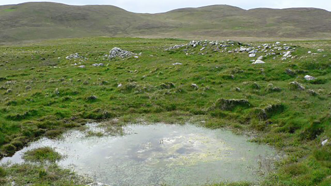 Remains of township, Ness of Hillswick, Shetland geograph-551141-by-Rob-Burke