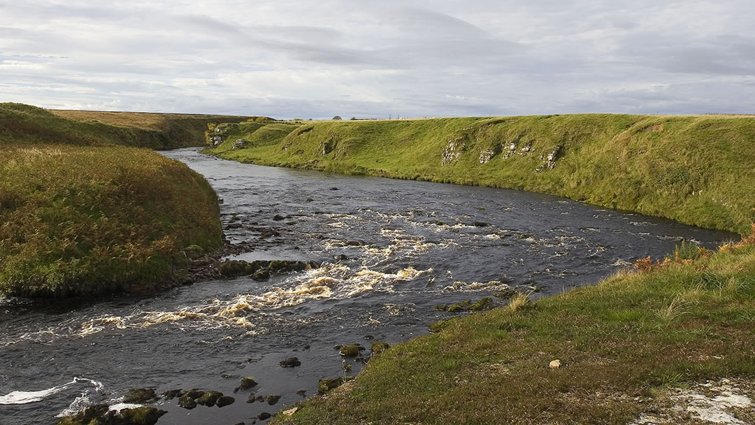 River Thurso and Beat 10 Gorge