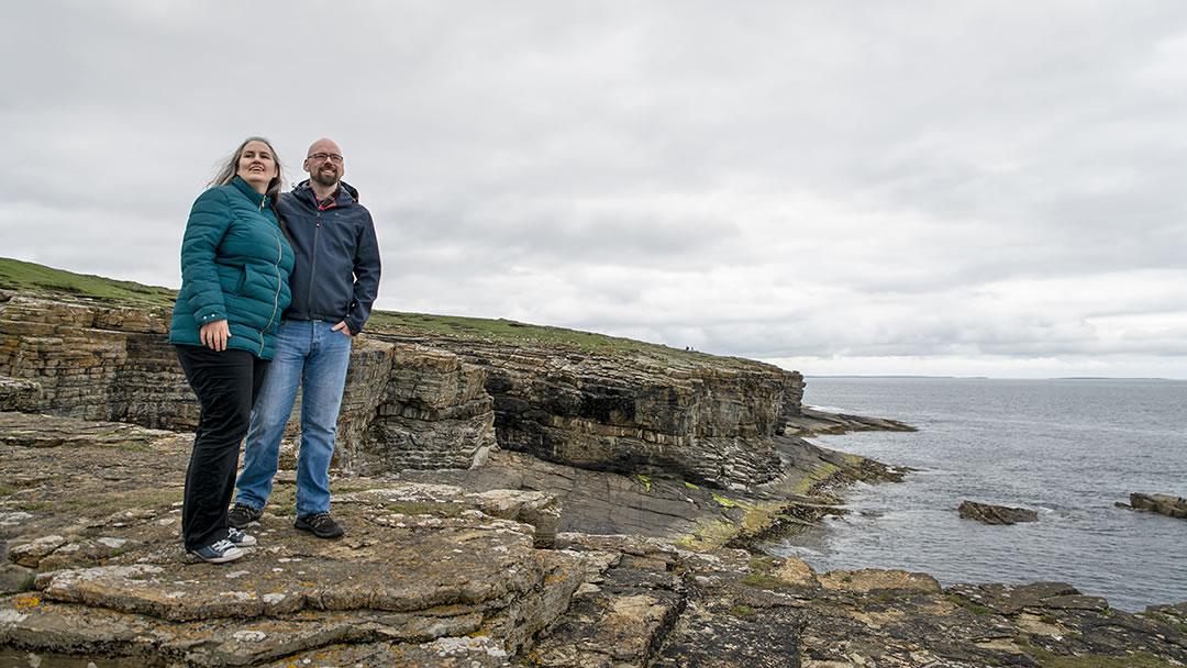 A walk in Deerness in Orkney