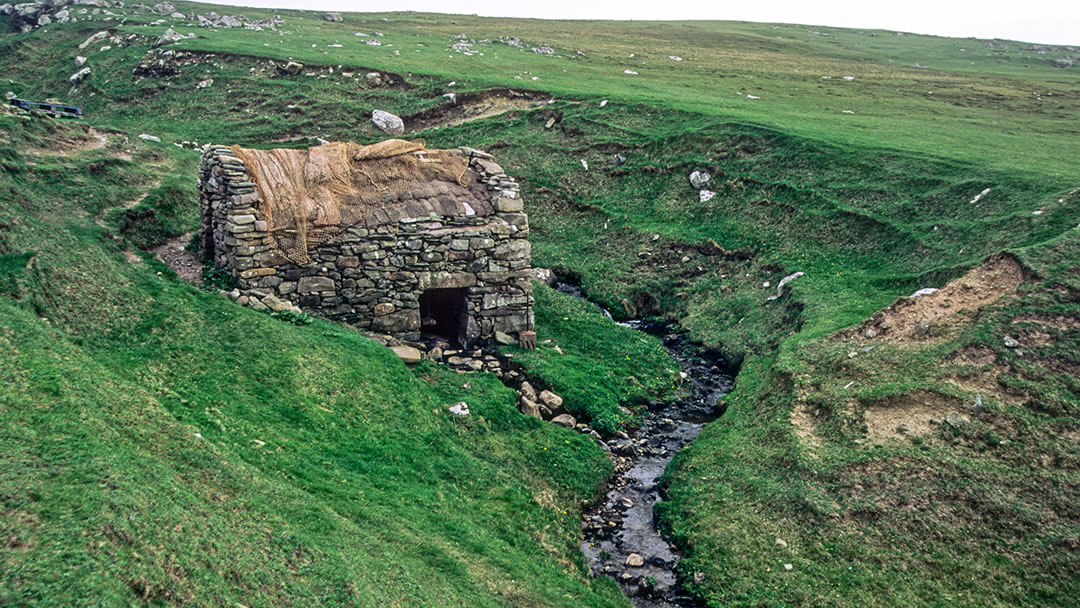 Huxter Mill in the Shetland islands