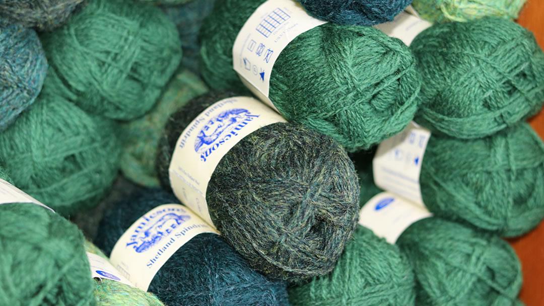 Jamiesons Wool from Shetland