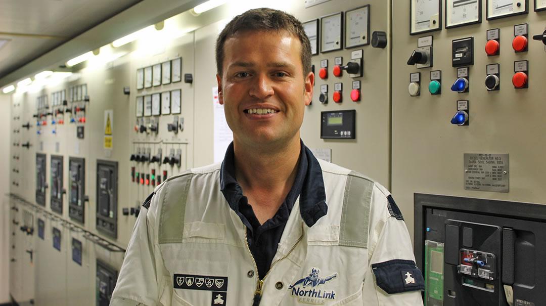 Marvin Tait - Chief Engineer, Hamnavoe
