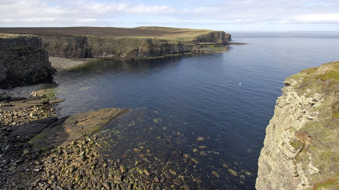 Mull Head in Orkney