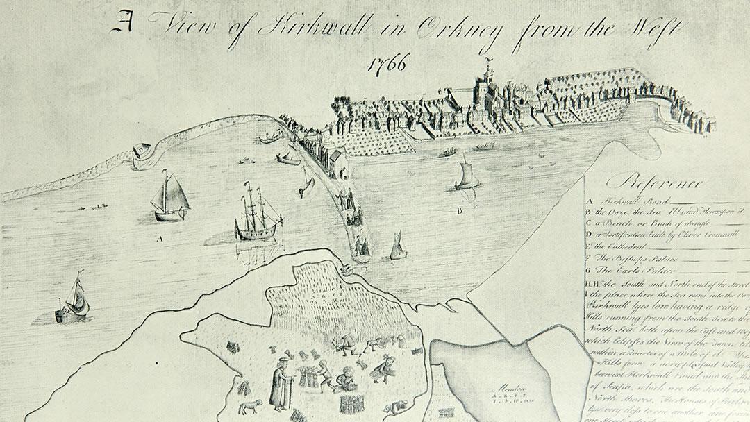 Old Kirkwall map