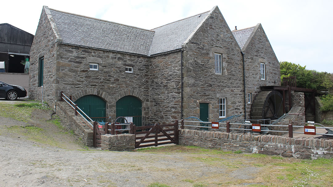 Quendale Mill in the Shetland islands