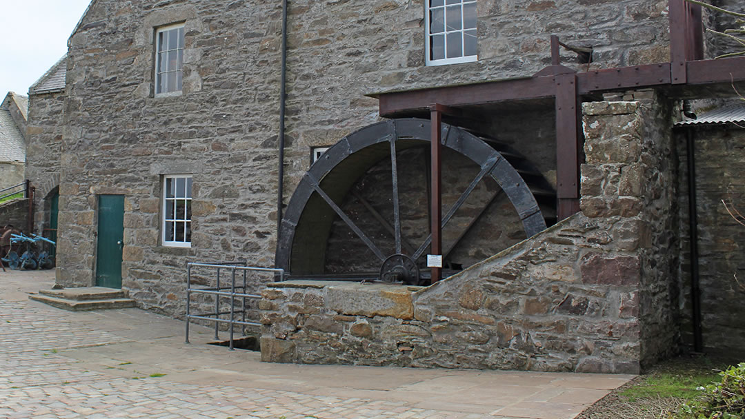 Quendale Mill waterwheel