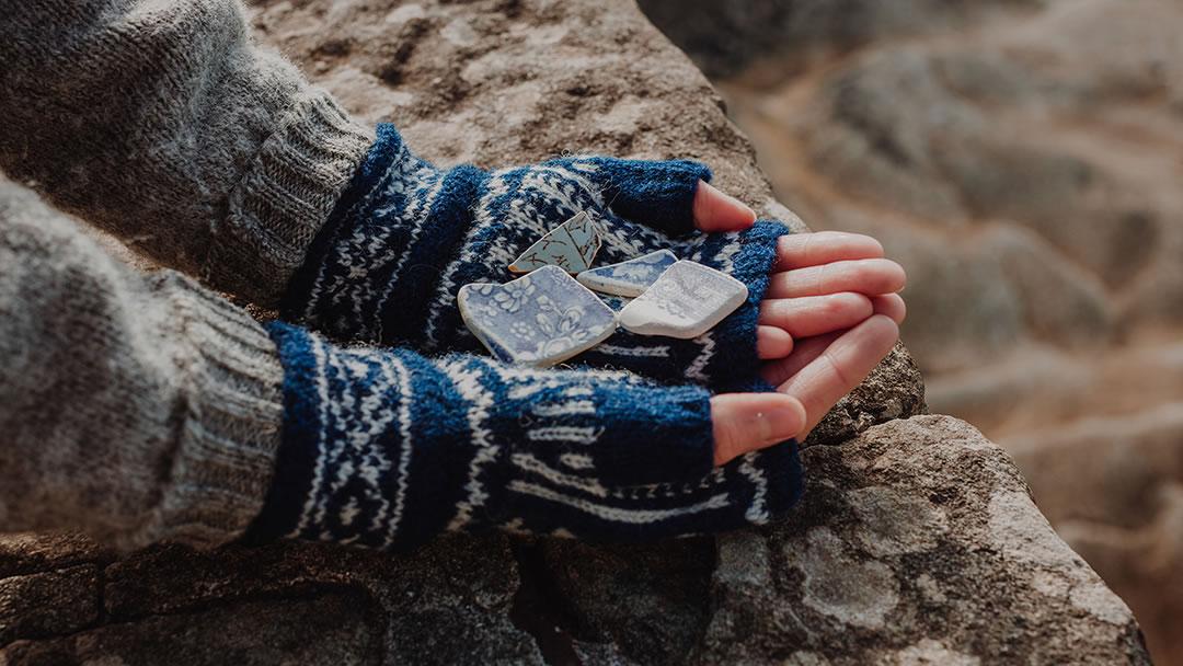 Shetland Mittens - photo by Susan Molloy