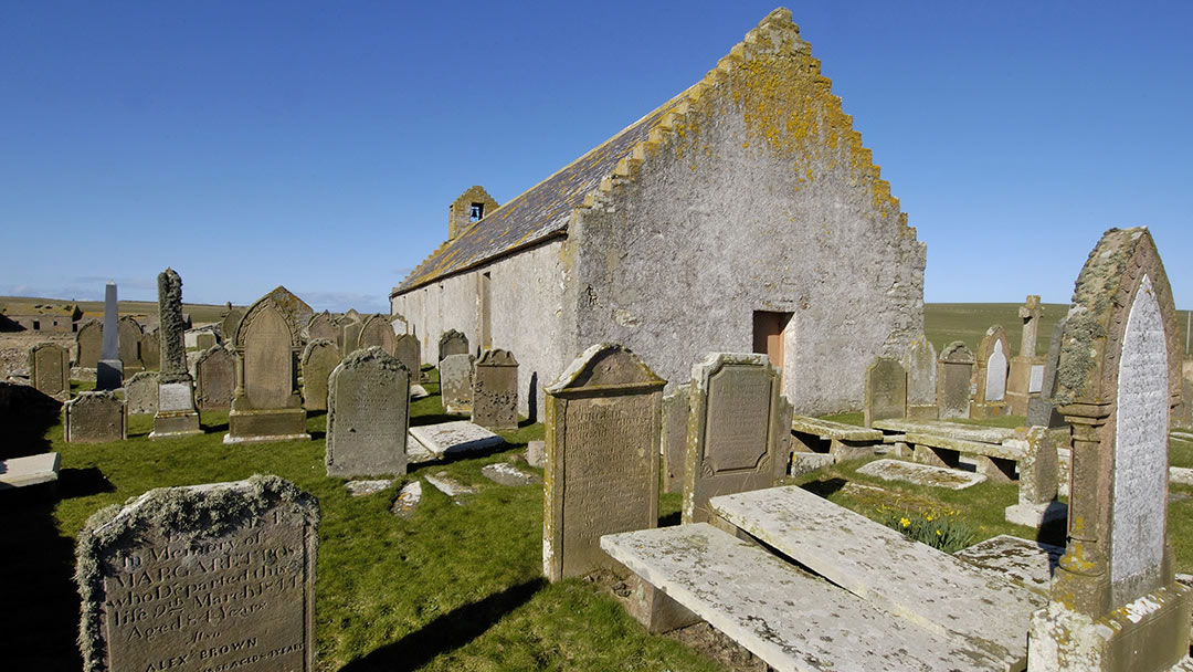 St Marys Chapel, Burwick, South Ronaldsay, Orkney
