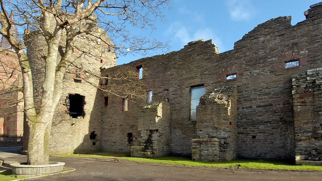 The Bishop's Palace in Orkney