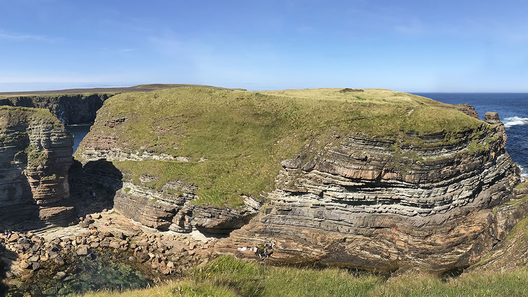 The Brough of Deerness in Orkney