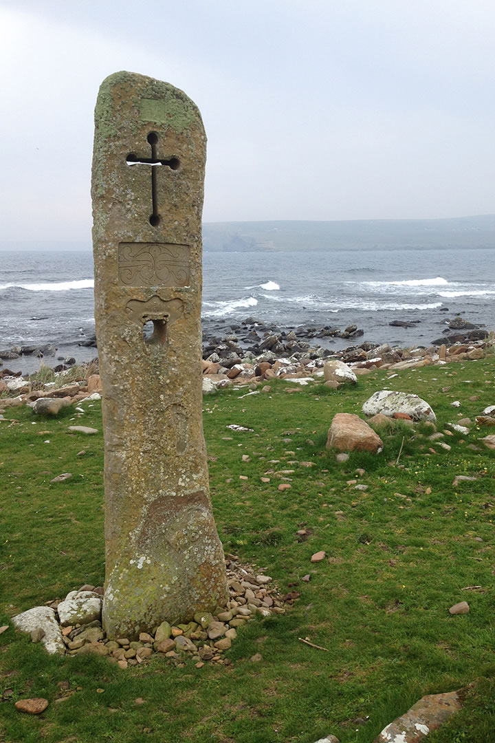 The Millennium Stone, South Ronaldsay, Orkney