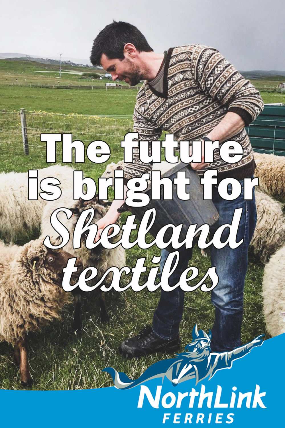 The future is bright for Shetland textiles