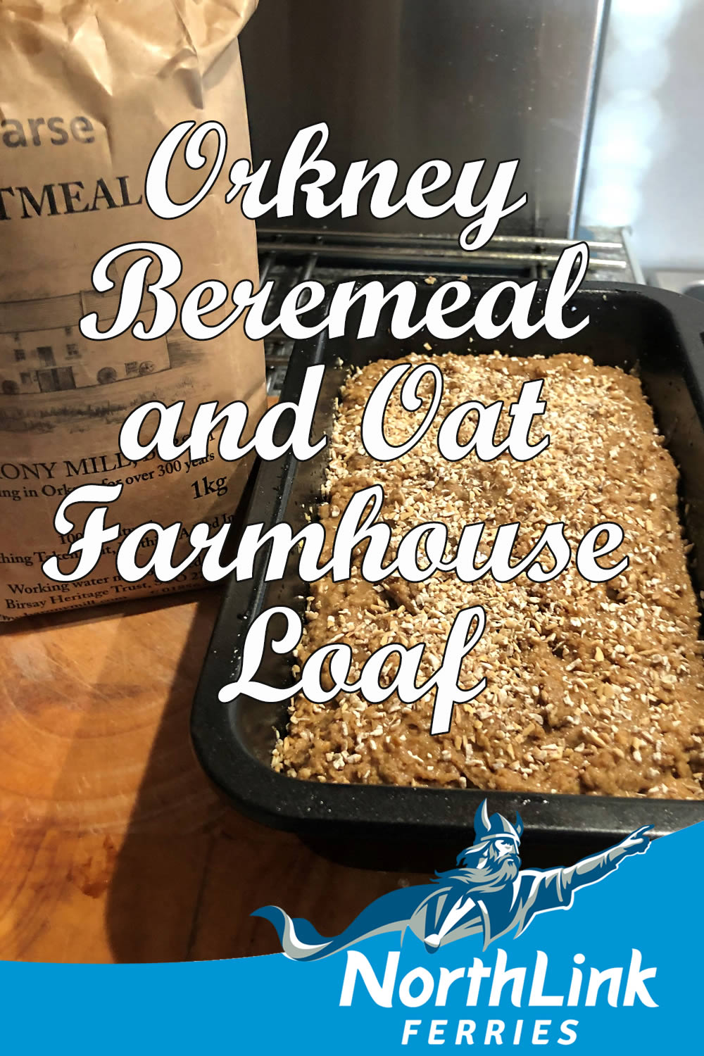 Orkney Beremeal and Oat Farmhouse Loaf