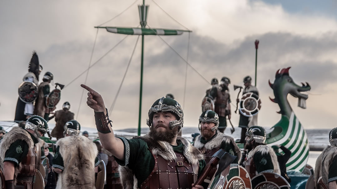 Up Helly Aa in Shetland 2019