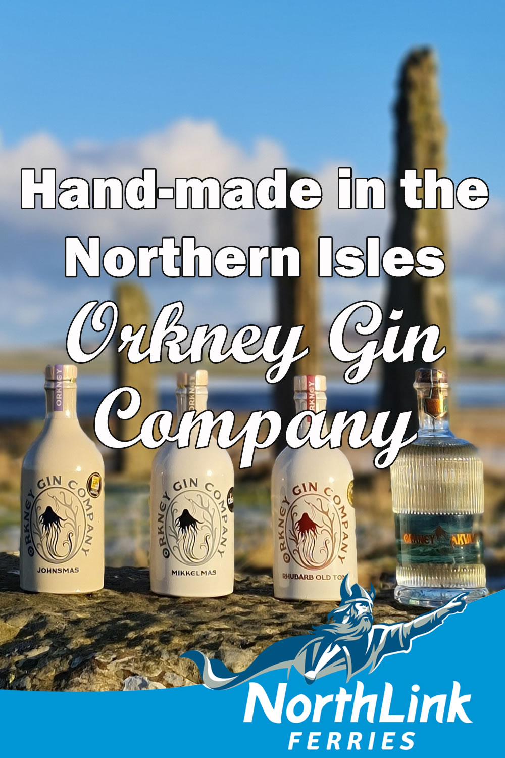 Hand-made in the Northern Isles - Orkney Gin Company