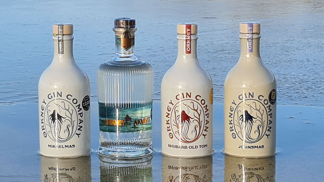 Orkney Gin - All 4 Ice 4th barrier