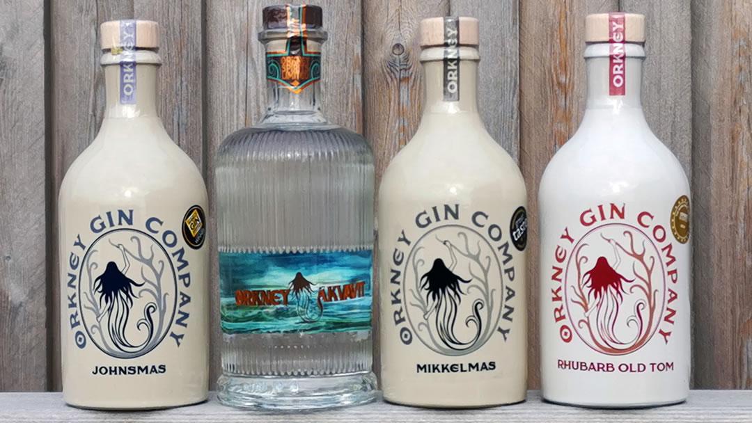 Orkney Gin - Bottles