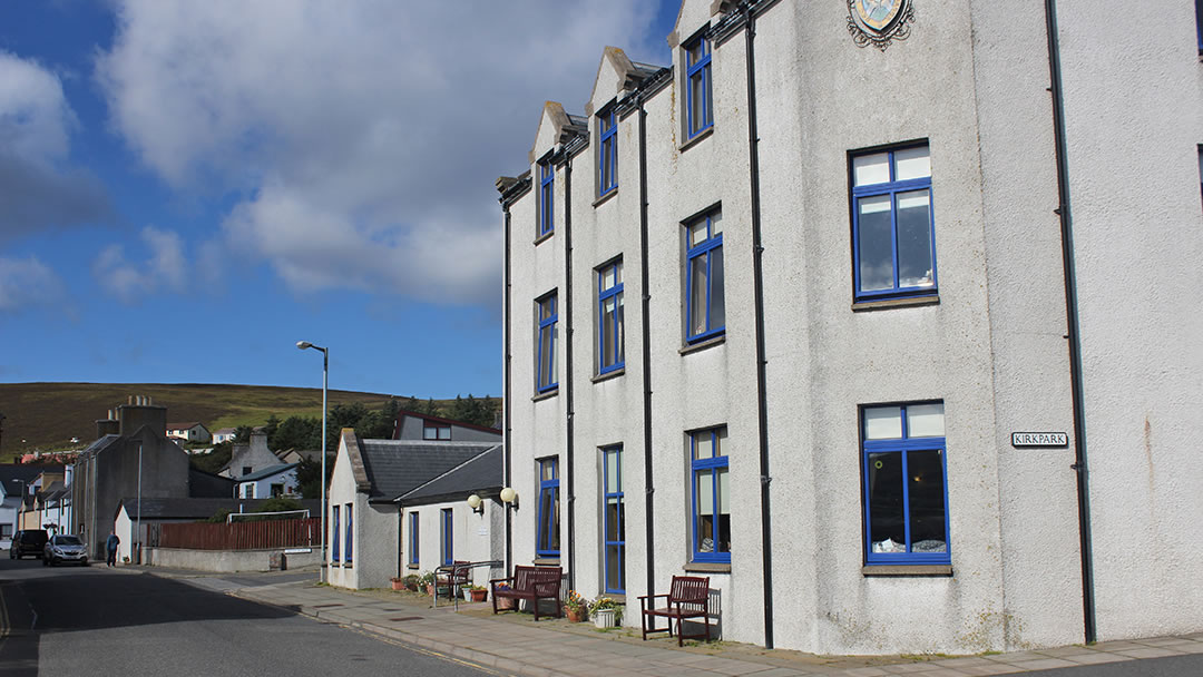 The Walter & Joan Gray Eventide Home in Scalloway in Shetland © Stuart Taylor