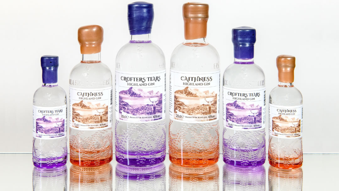 Bottles from Ice and Fire Distillery