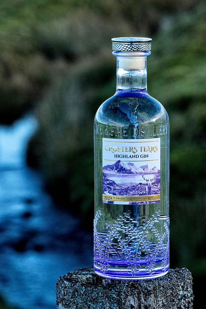 Crofters Tears from Ice and Fire Distillery in Caithness