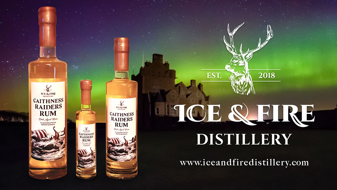 Ice and Fire Distillery and Caithness Raiders Rum