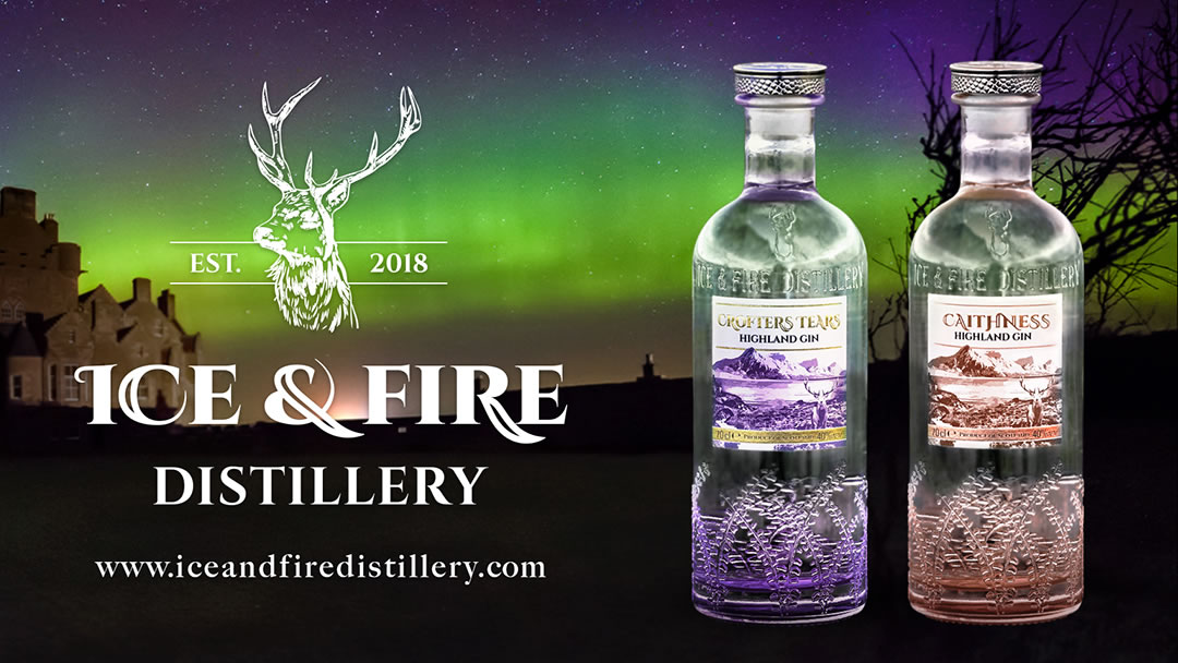 Ice and Fire Distillery in Caithness, Scotland