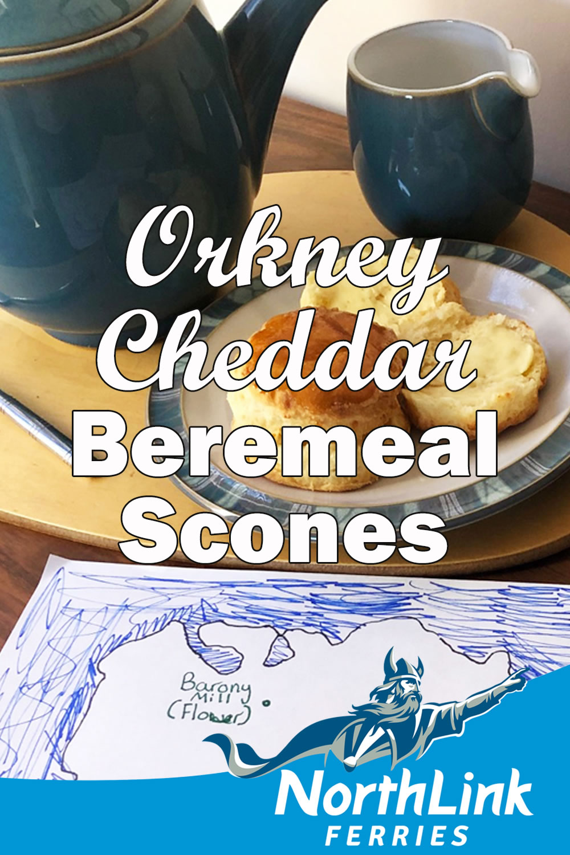 Orkney Cheddar Beremeal Scones