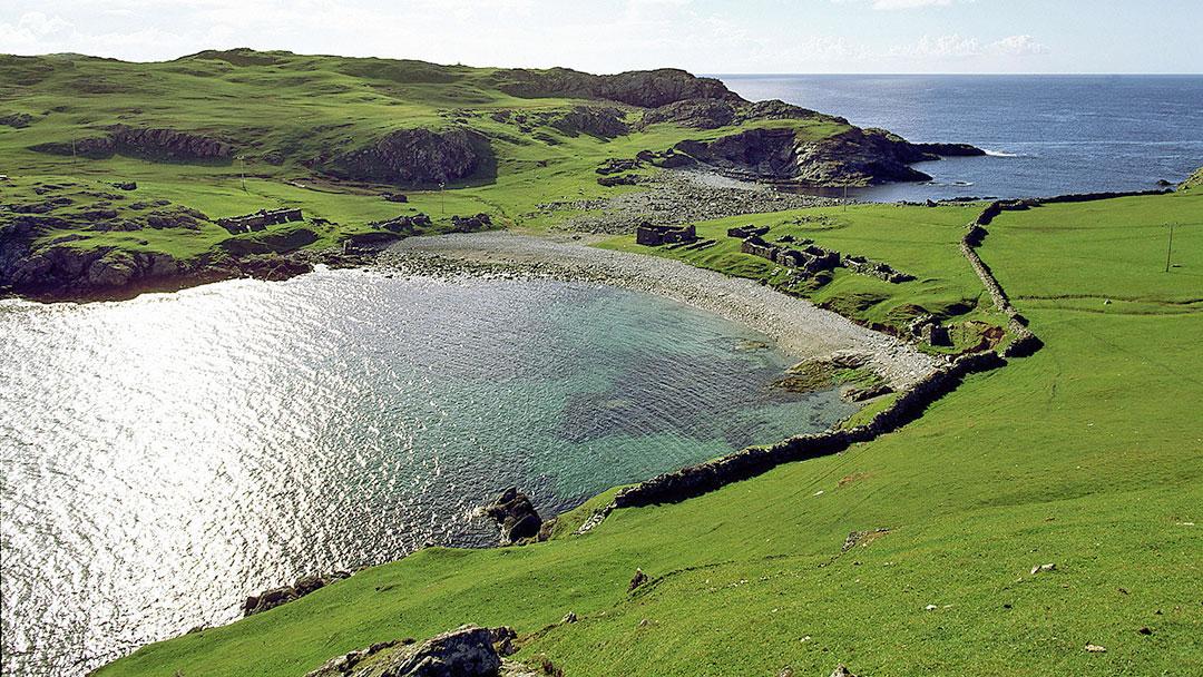 Fethaland in the far north of Shetland