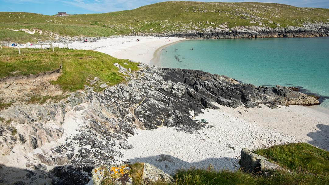 Meal beach in Shetland