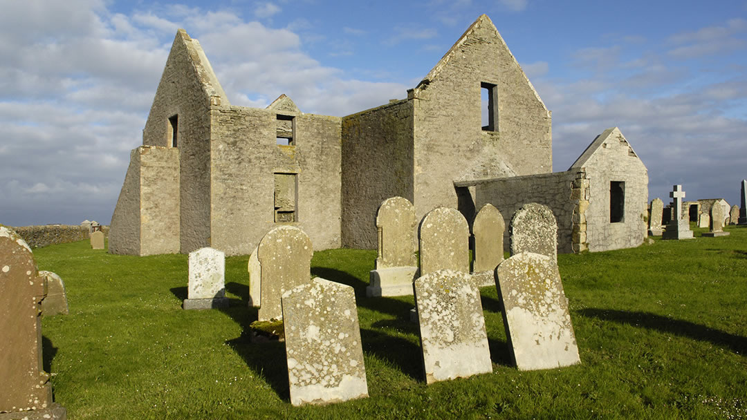 Old Lady Kirk in Sanday, Orkney