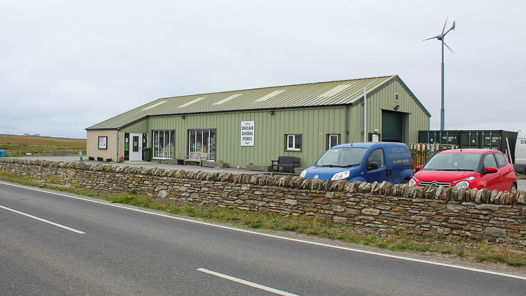 Sinclair General Stores in Sanday, Orkney