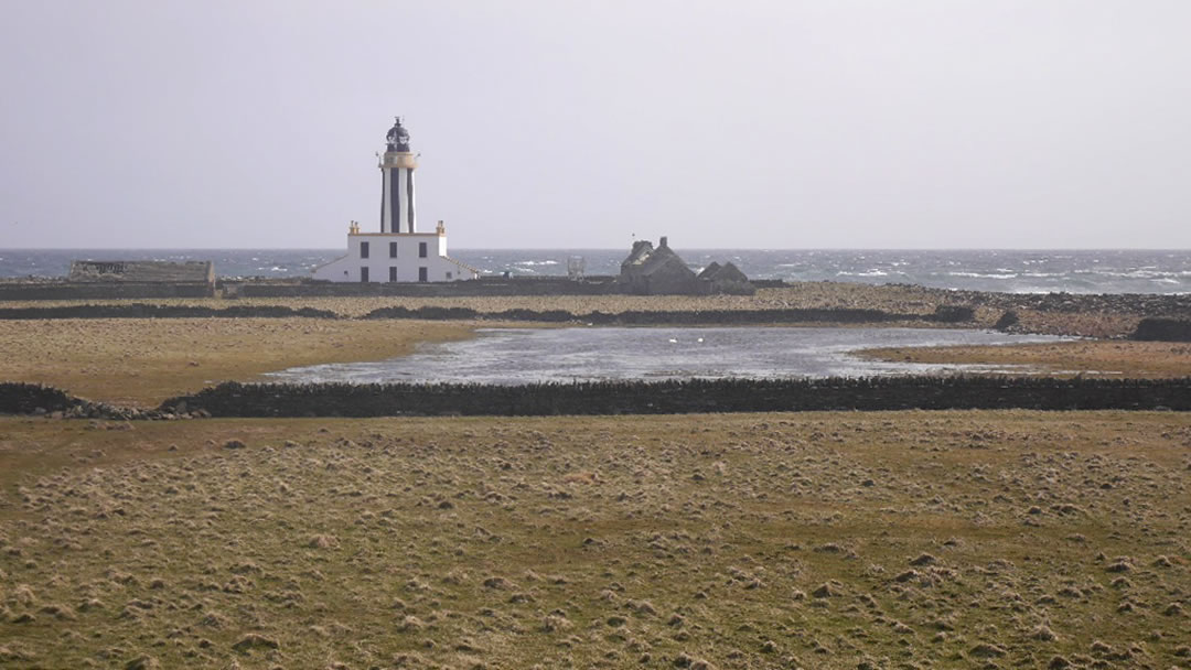 Start Point Lighthouse in Sanday, Orkney