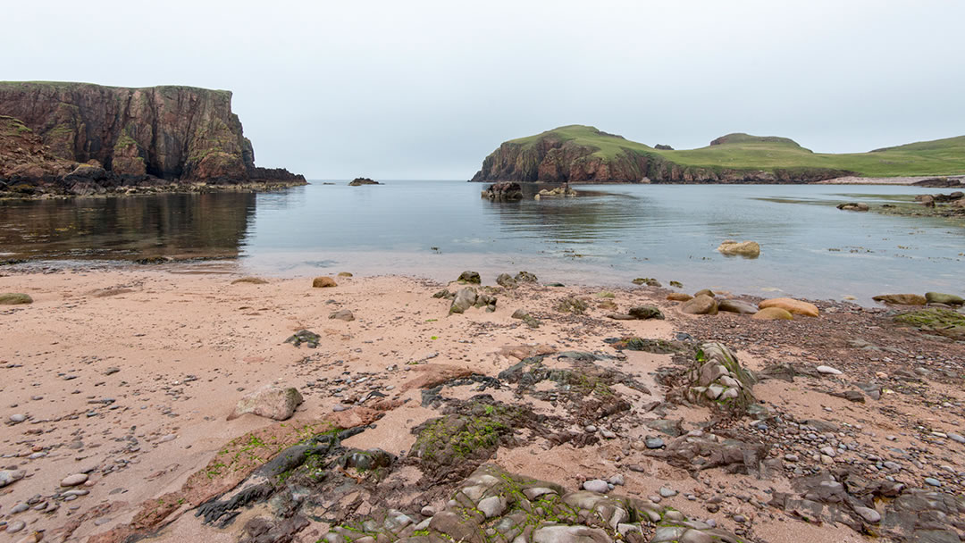 The Hams of Muckle Roe in Shetland