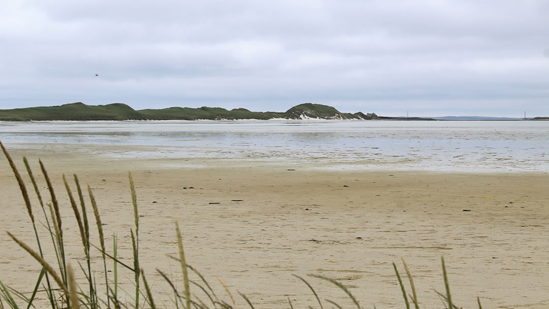 Tresness dunes and Cata Sand in Sanday, Orkney