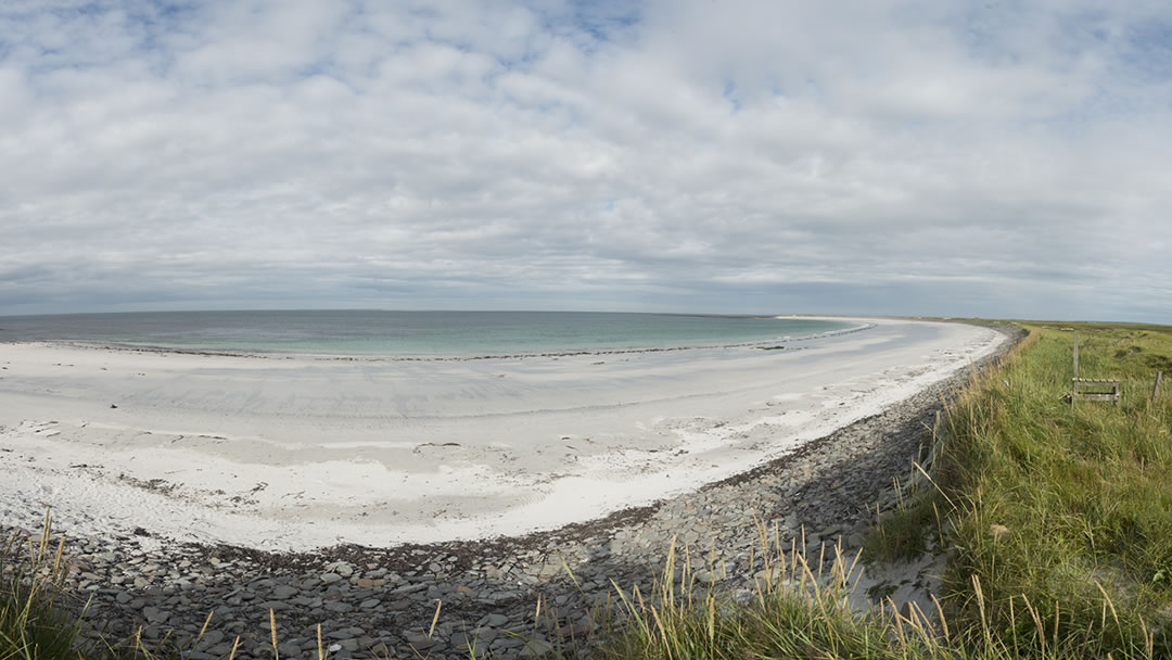Whitemill panorama - Sanday, Orkney