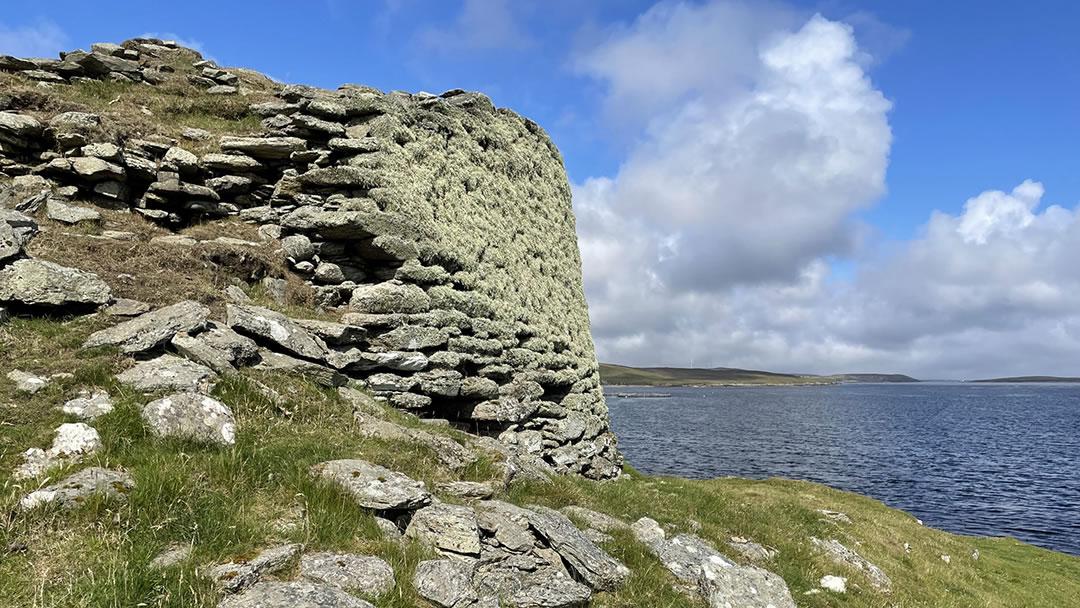 Burra Ness in Yell, Shetland
