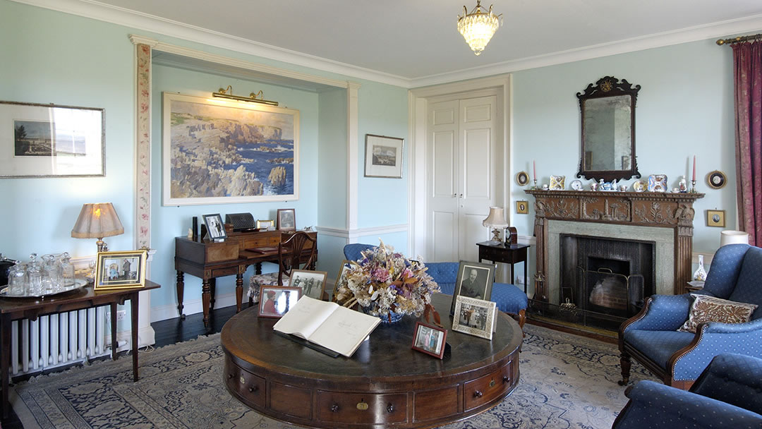 Inside Skaill House, Orkney