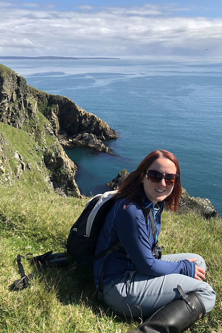 Laurie at Neapaback in Yell, Shetland