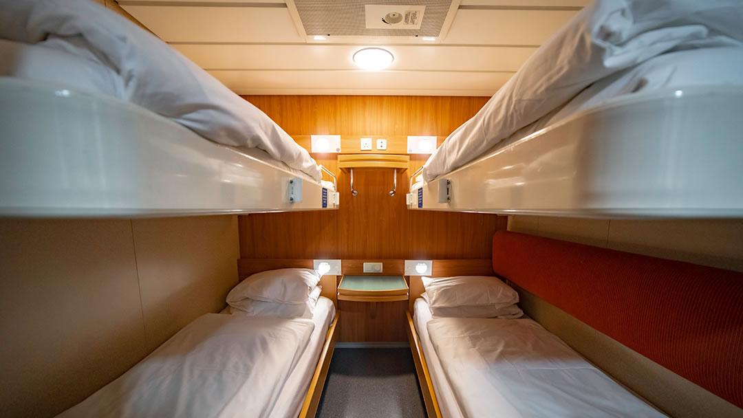 Pet-friendly cabin (Inside 4-berth)