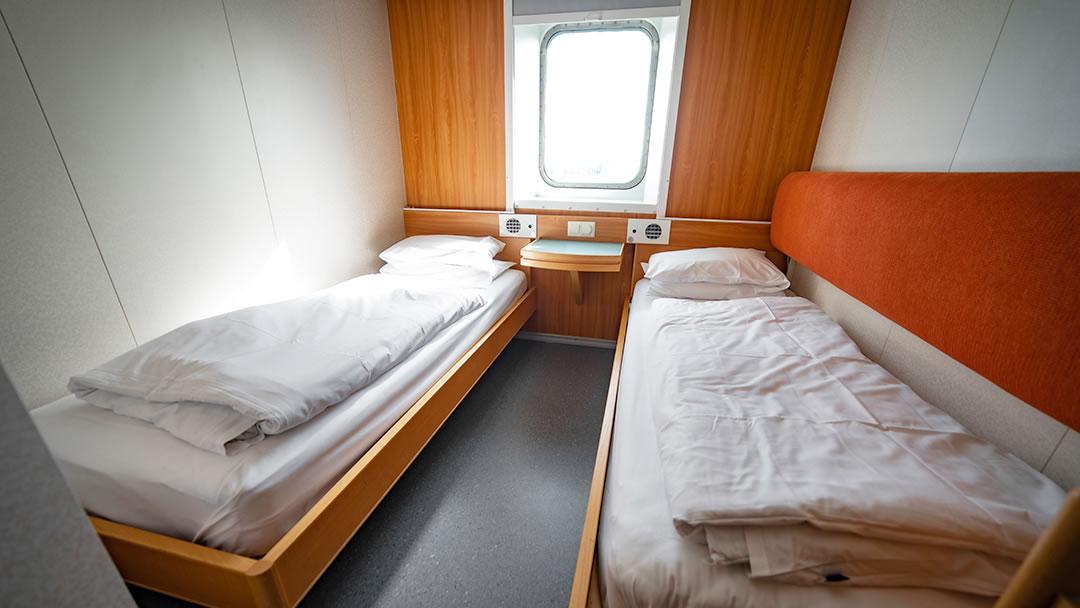Pet-friendly cabin (Outside 2-berth)
