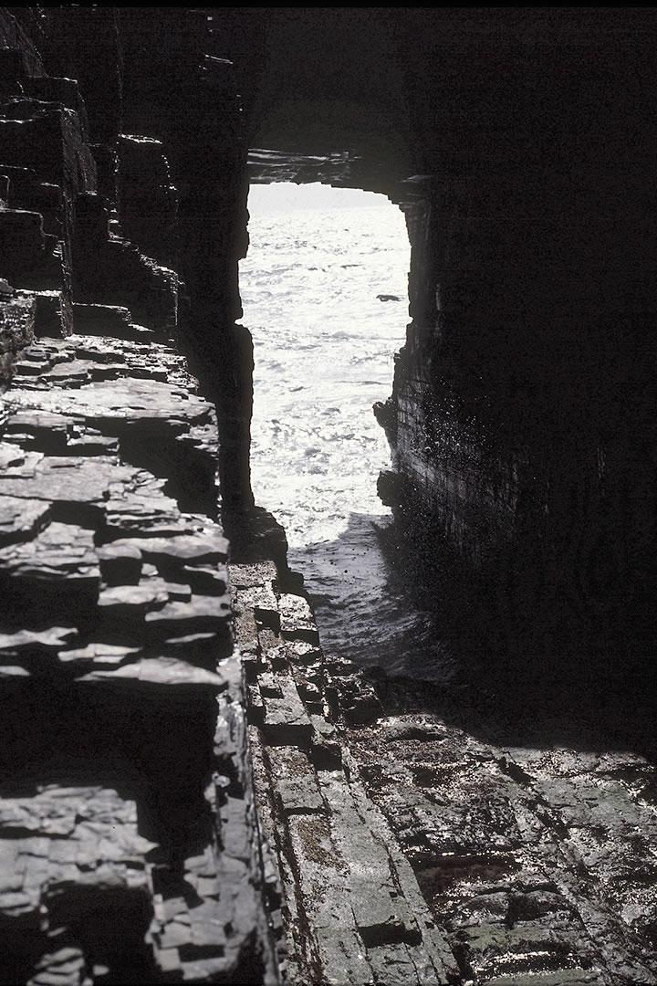 The Hole o'row, Skaill, Orkney
