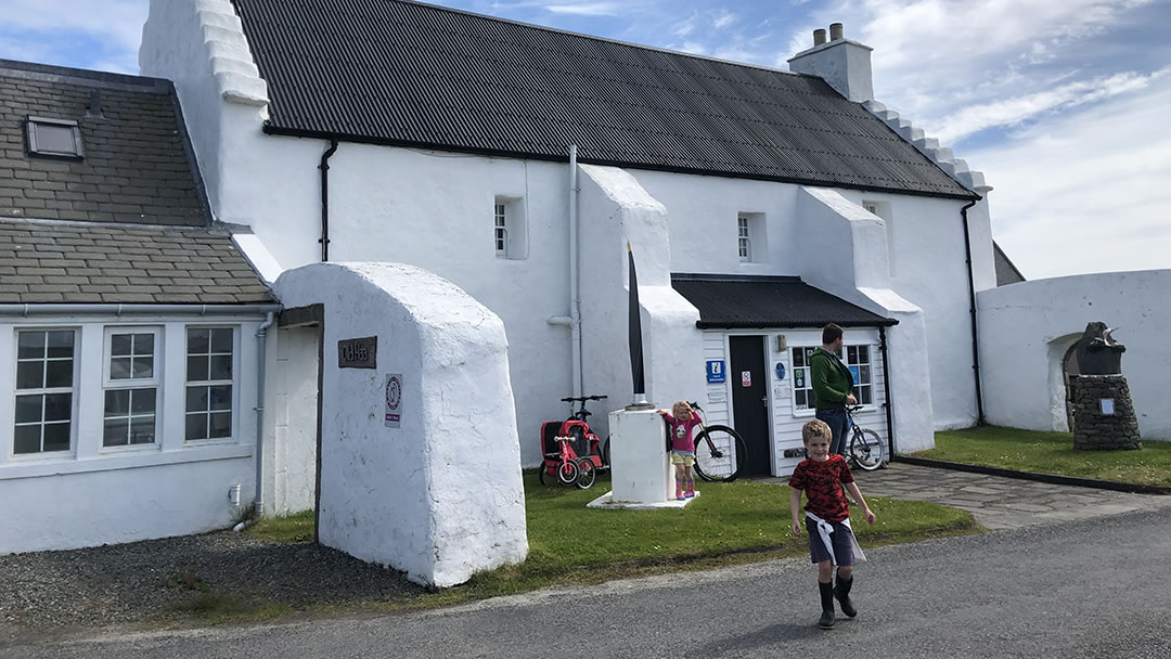 The Old Haa Museum in Burravoe, Yell, Shetland